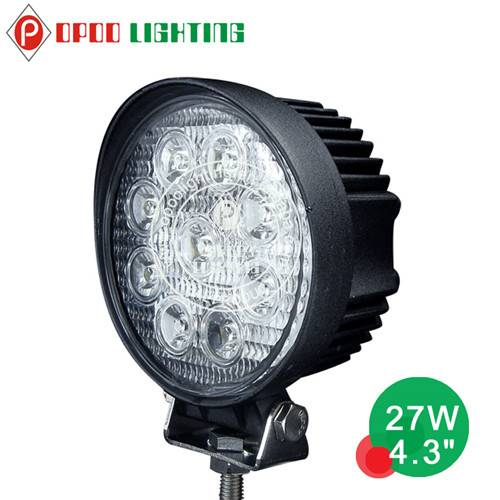 "Wholesale 4.3"" Round Offroad 27W Led Work Light"