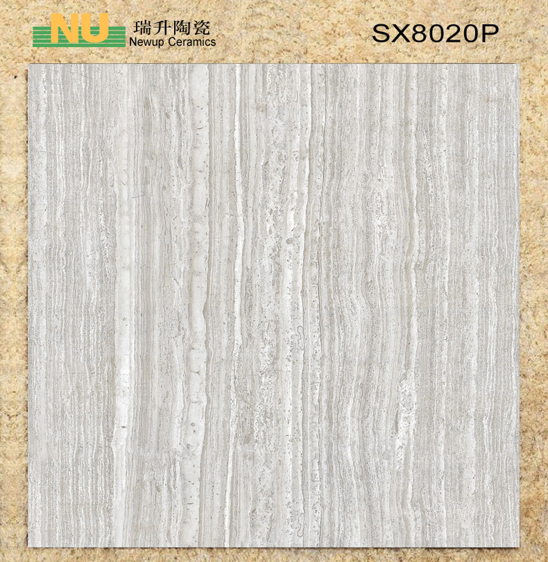 Full glazed tile with wooden for indoor floor wall tiles