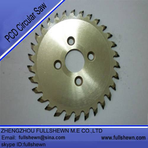 PCD circular saw blade for cutting PCB board