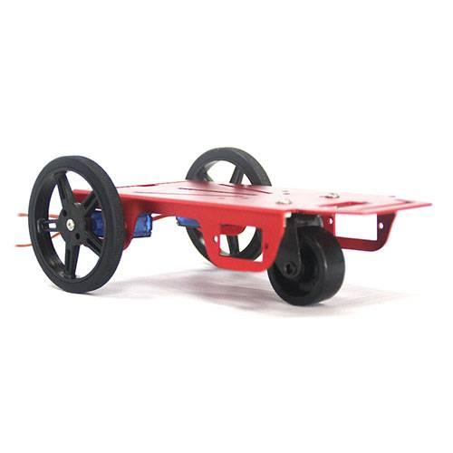 FEETECH 2WD Mini Robot Mobile Platform Kit FT-MC-001