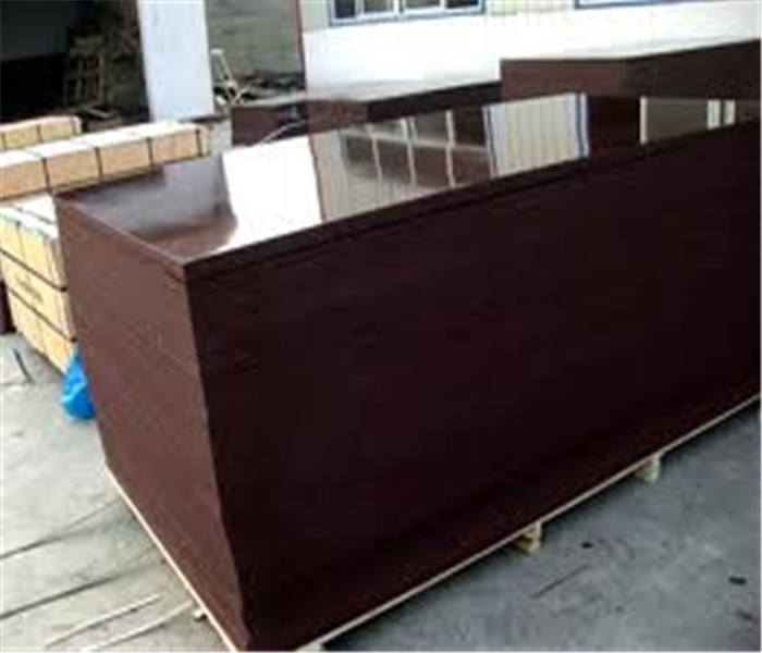 Outdoor used 15mm brown film faced plywood
