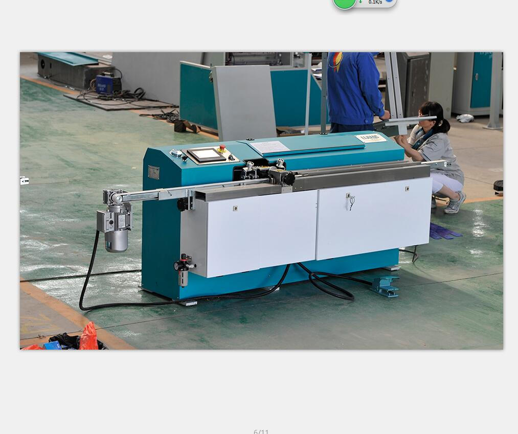Butyl extruder machine for insulating glass