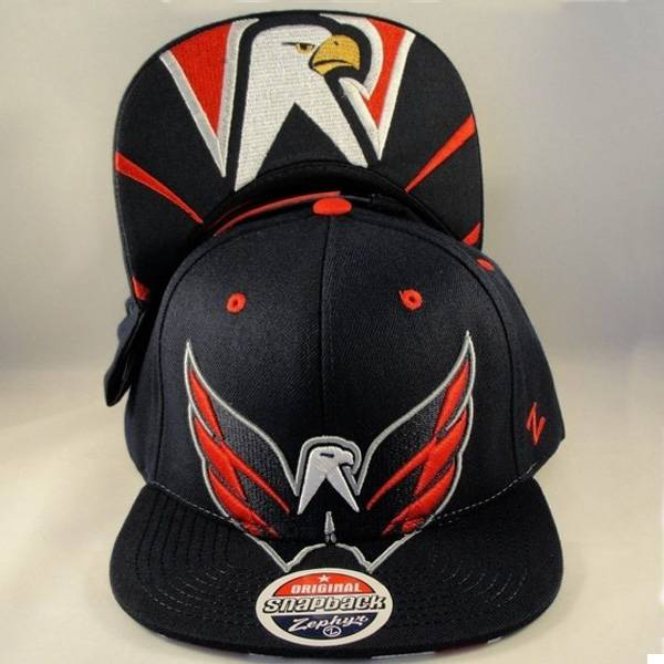 NHL Washington Capitals Zephyr Snapback Hat Cap Menace