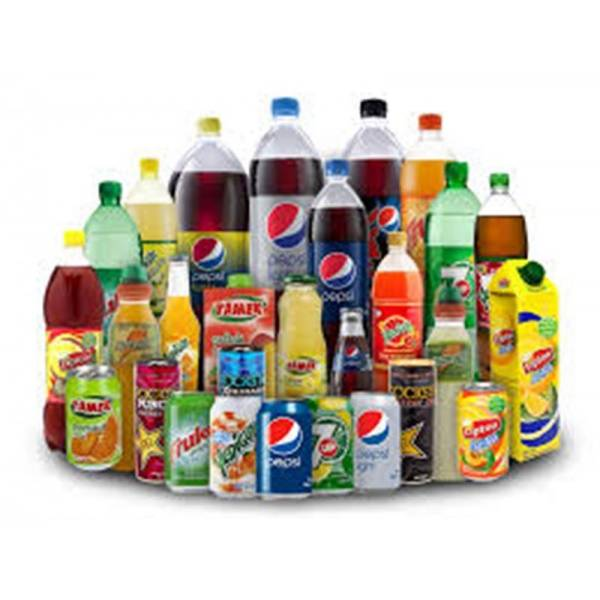 SOFT DRINK ,LIPTON ICE TEA, PEPSI COLA , FANTA, SCHWEPPES CITRUS MIX,DR PEPPER,ORANGINA, SOFT DRINKS
