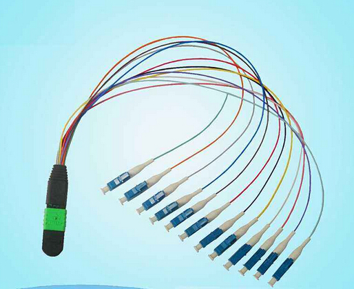 Optic Fiber Patch Cord MPO fiber optic patch cable