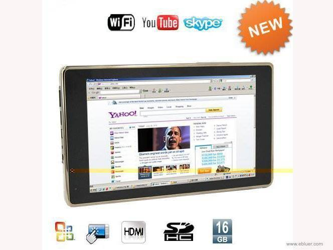 800MHZ CPU 7 Inch MID Tablet PC