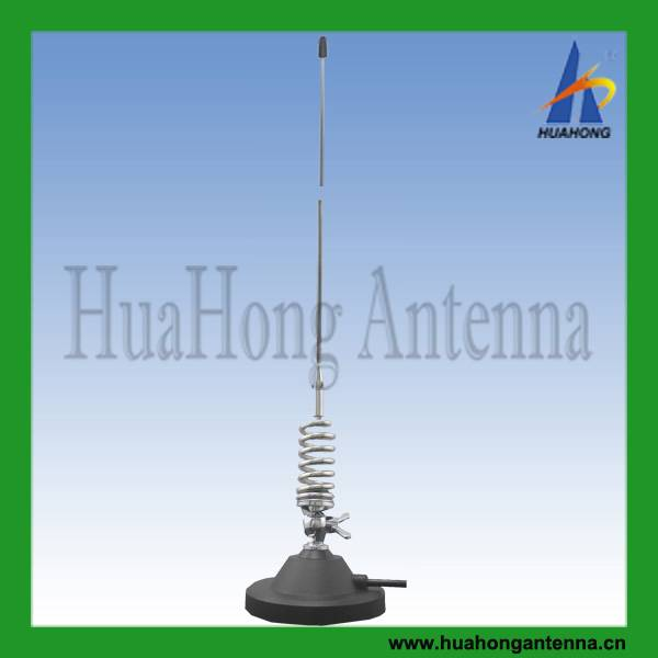 VHF136-174MHz mobile antenna 3.5dBi DV magnetic mount
