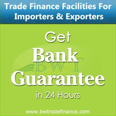 Avail Bank Guarantee for Importers & Exporters