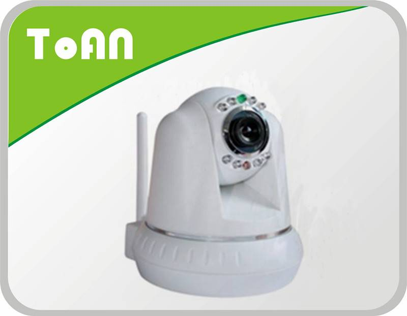 M-JPEG 30fps cmos network ip camera with Two-way audio