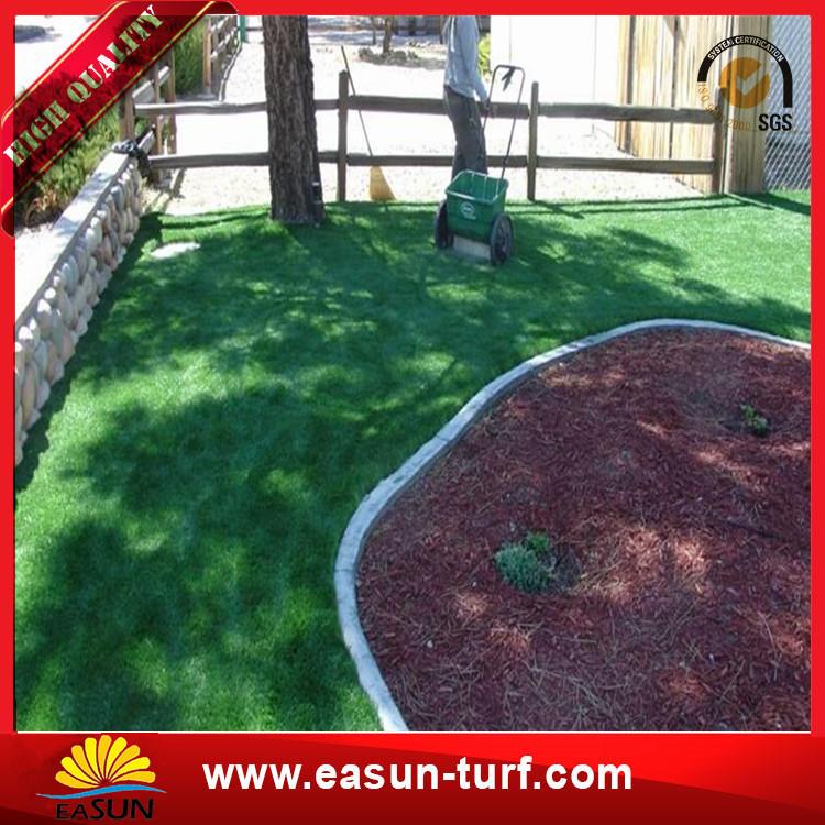 Big Chinese manufacturer turkey PU coating golf artificial grass factory grass-Donut