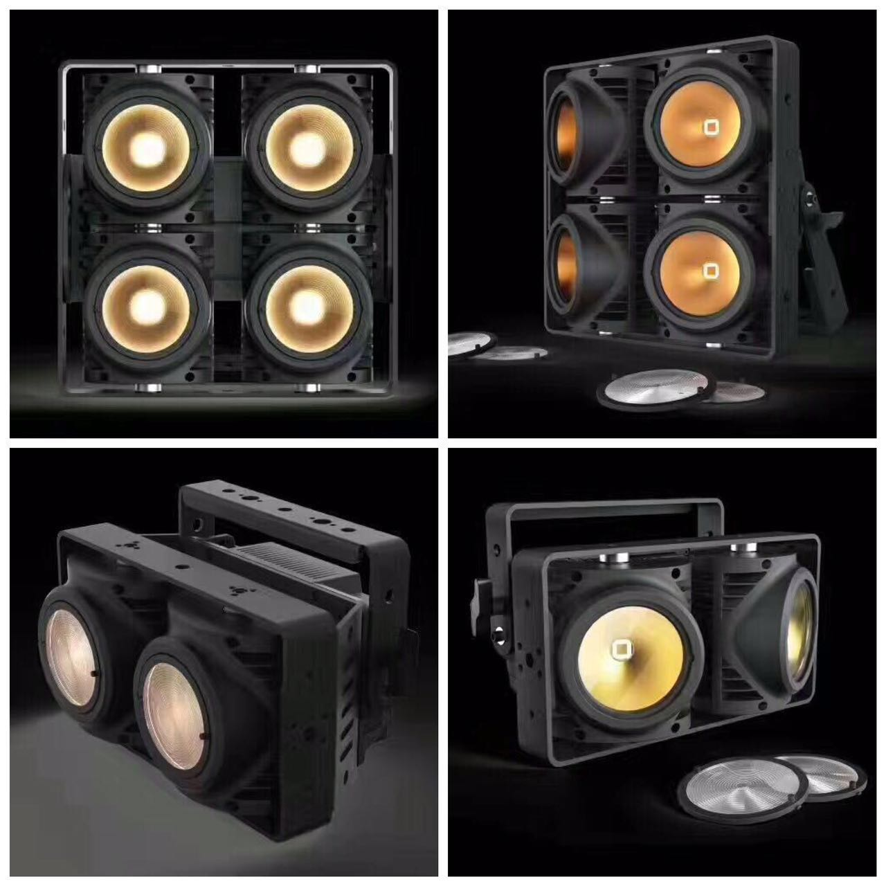4x100W COB Audience Light Waterproof IP65