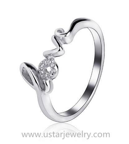 Sterling Silver Wedding Rings Love Ring