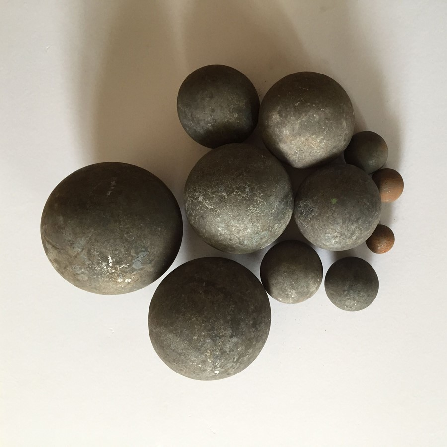 dia.20mm to 100mm hot rolled forged steel grinding media balls