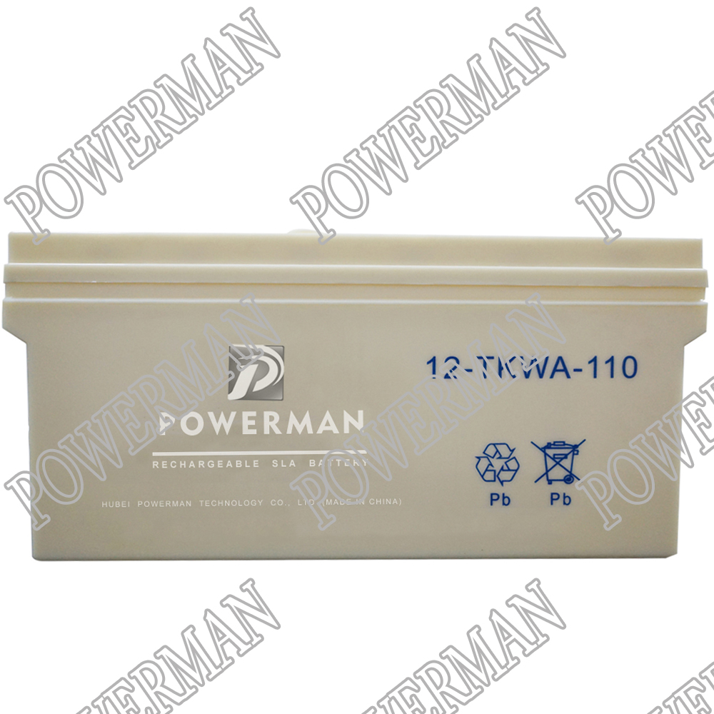24V110AH Tank Lead-acid batteries