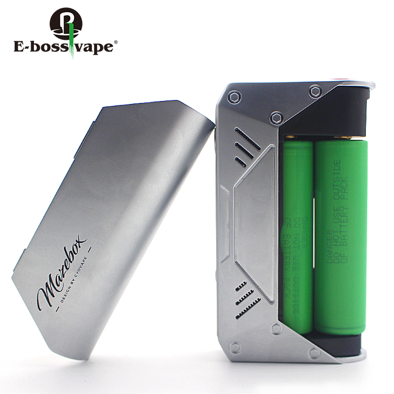 Factory wholesale E-boss vape TC 216W box mod Powered By 218650 rechargeable Battery vape mod