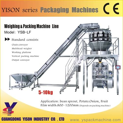 Chinese Best Price Automatic Salad Packing machine