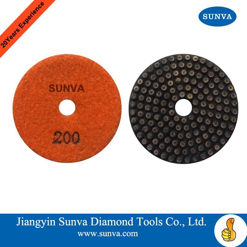 SUNVA Metal Bonded Soft Polishind Pads