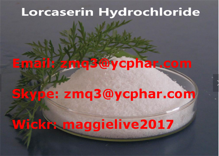 Weight Loss Lorcaserin HCl Hemihydrate Belviq 99.5% Purity of Antidepressants 856681-05-5