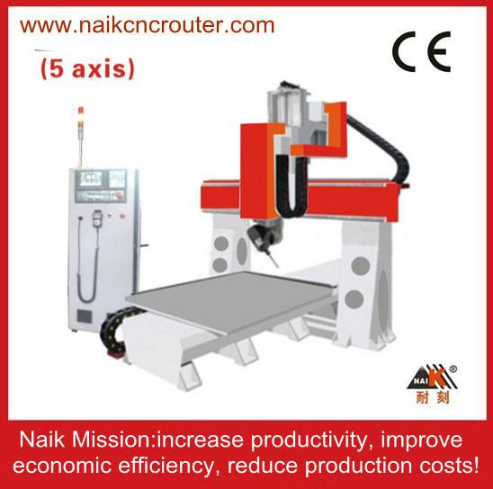 five axis cnc router machine