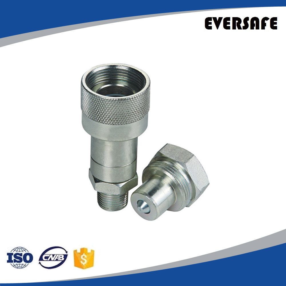 Hydraulic Quick Coupling High Pressure Screw 10,000 PSI, Steel