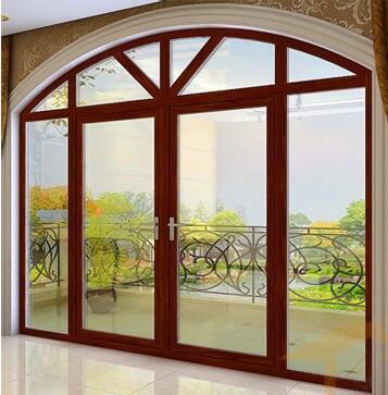 Heat-Insulated Aluminium Package Wood Door