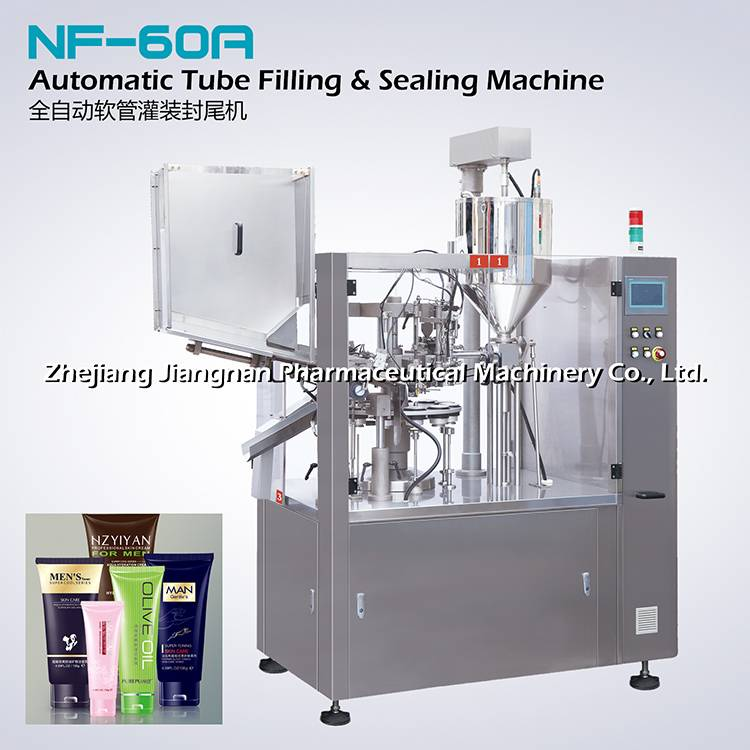 Filling and sealing machine NF-60A
