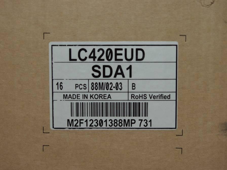 42 inch Low power comsumption Landscape LCD module LC420EUD-SDA1