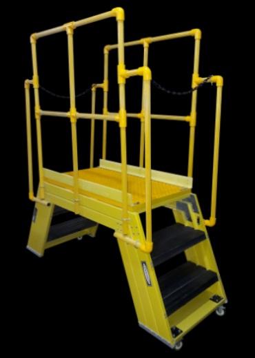 Cross Over Platform/ Bridge FRP Ladder