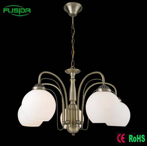 European decorative crystal ball handing chandelier light/ceiling lighting for home/restaurant