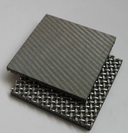 multilayer 20 micron 316L Plain Weave Sintered Square Woven Wire Mesh for filtration industry