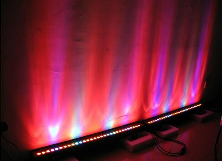 High Quality IP65 Waterproof 36pcs 1W LED RGB Led Wall Washer 10%off Free Shipping