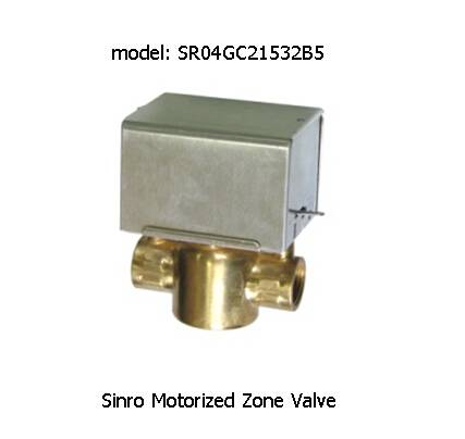 Motorized Zone Valve for Fan Coil Units