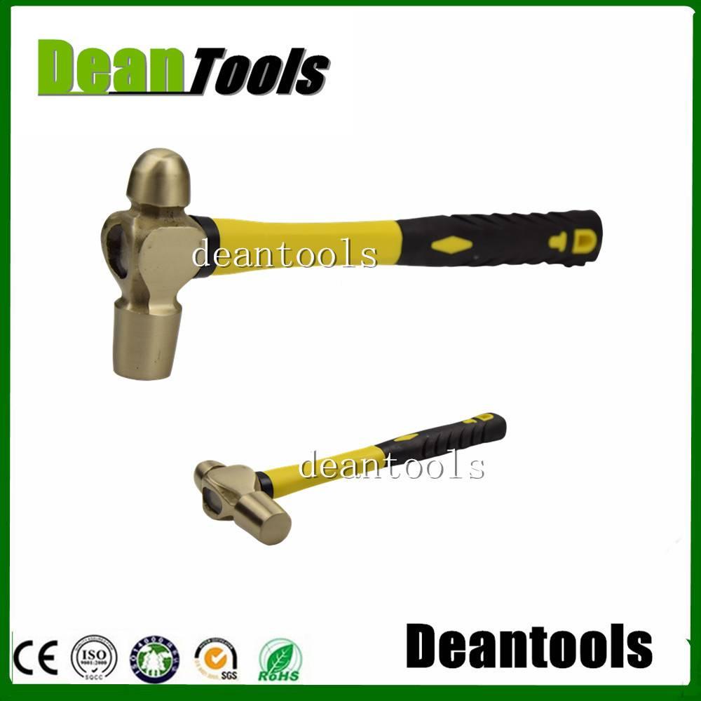 sparkless 230g  ball pein hammer , fiberglass handle