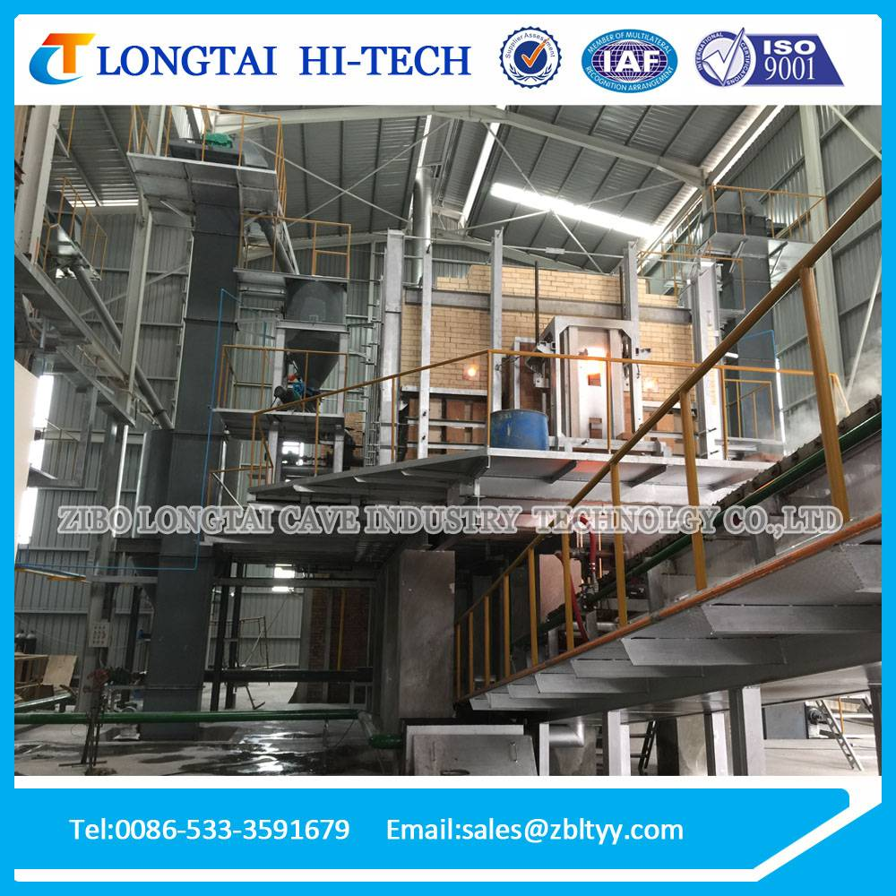 28 Tons Industrial Gas Furnace For Solid Sodium Silicate Production