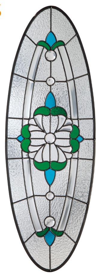 SGCC Wooden Doors Inlaid Glass High Quality Door Glass