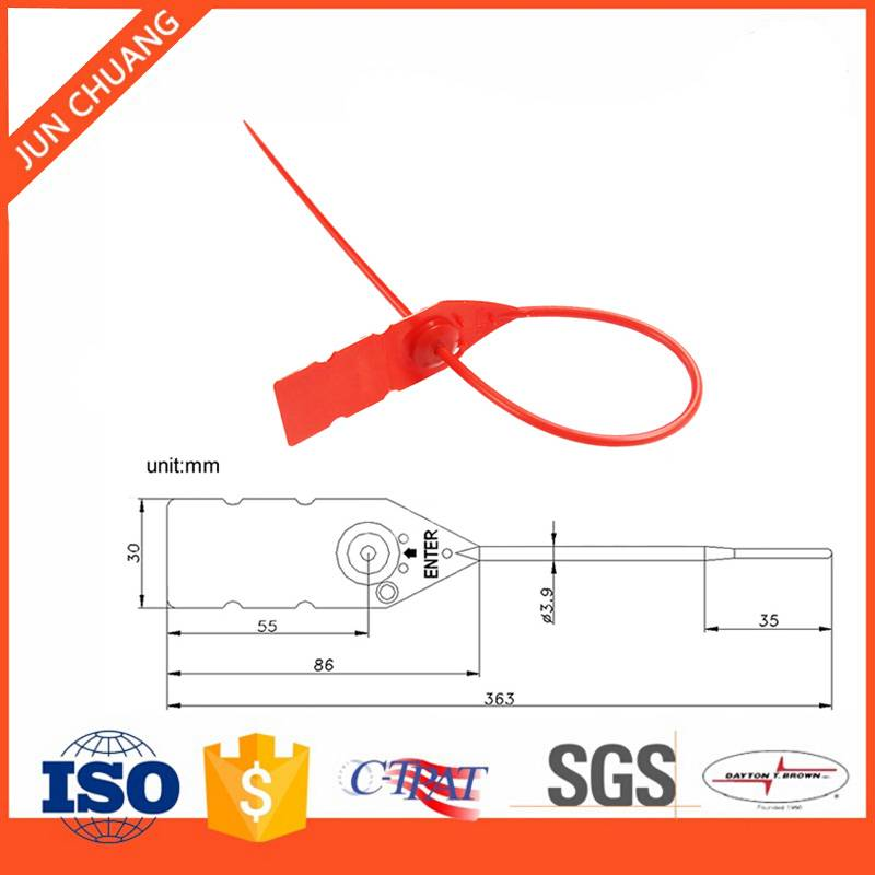 Security Plastic Material Seal for Container