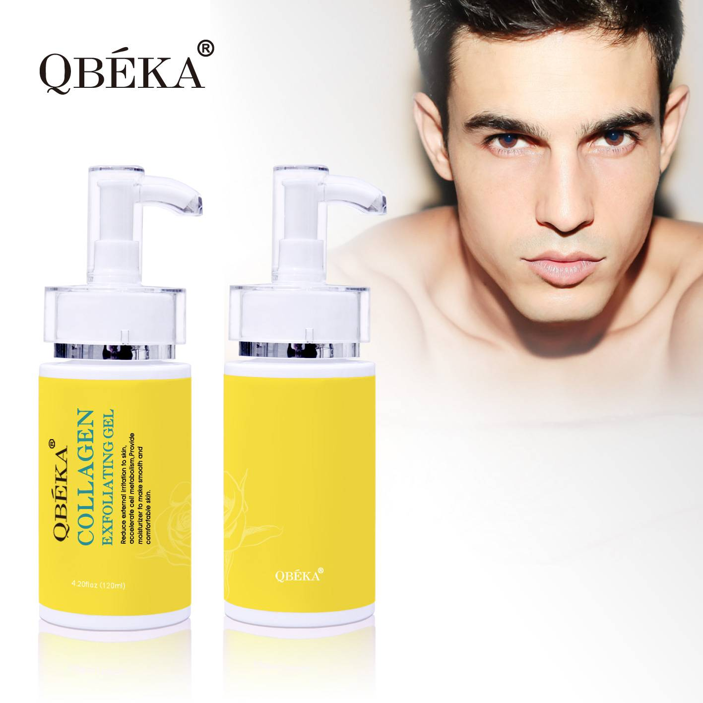 QBEKA Collagen Exfoliating Gel