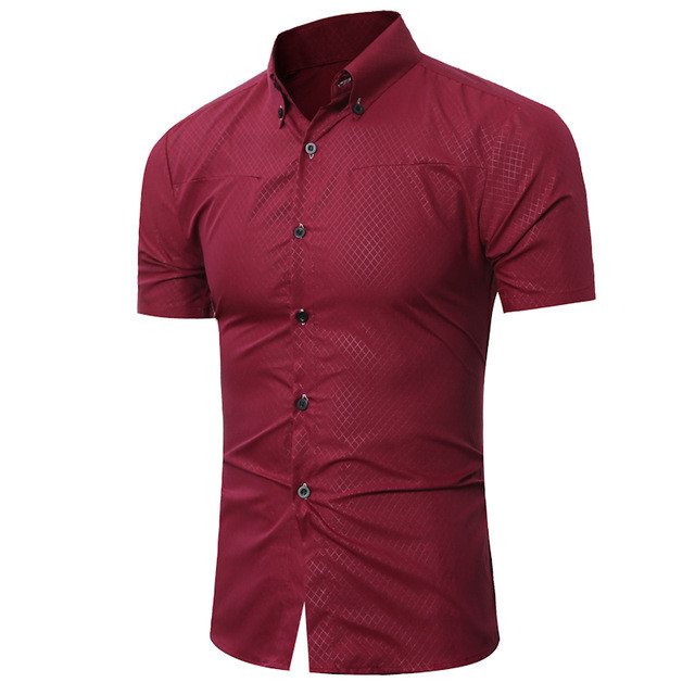 Formal Short Sleeve Dress Shirt