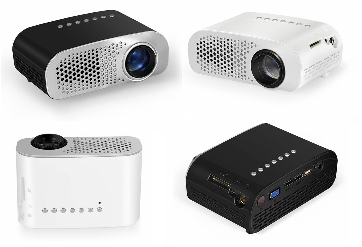 High quality simplebeamer projectors