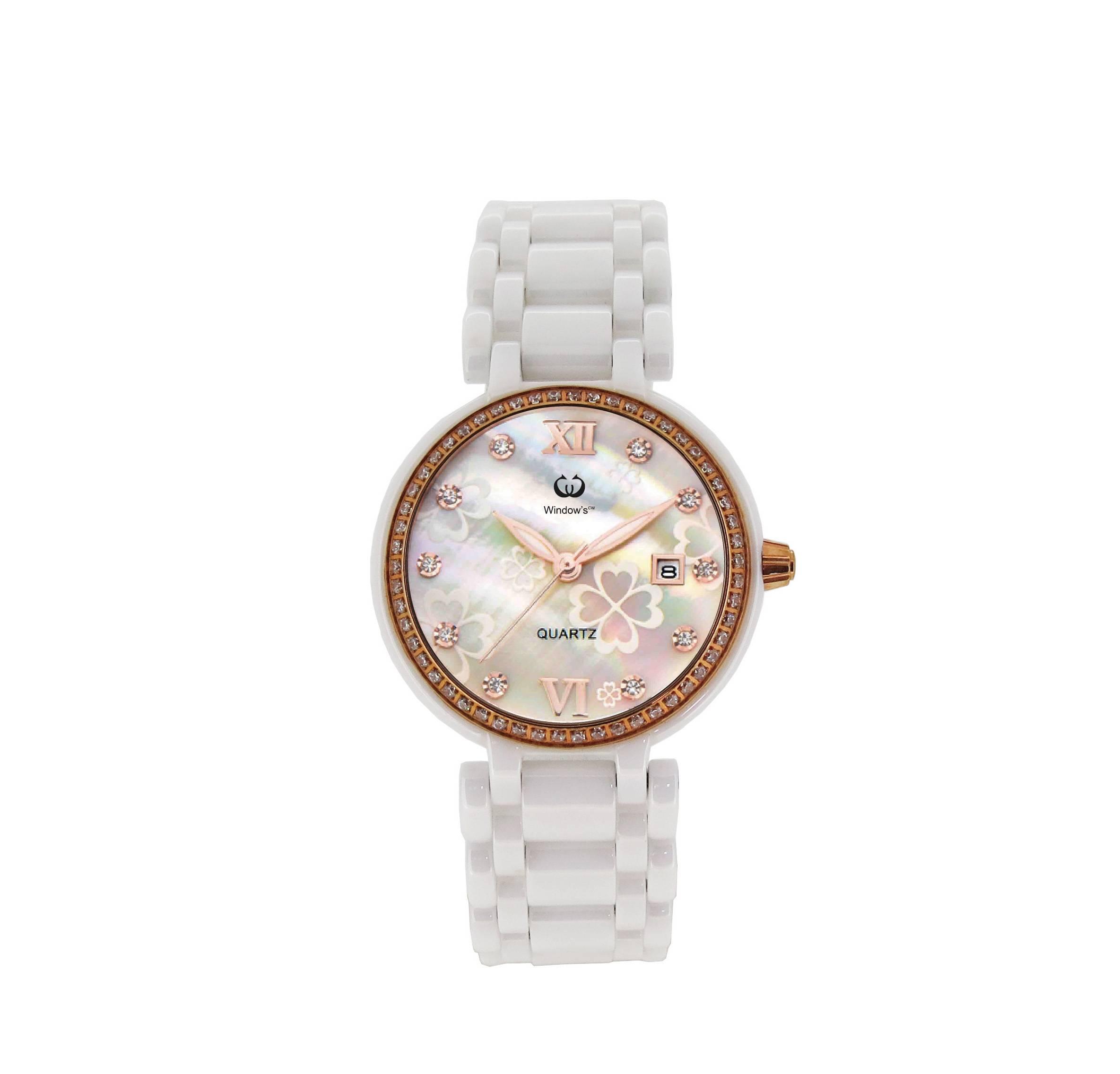Ceramic watch ladies' watch quartz watch vogue watch