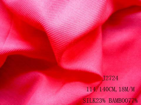 silk/bamboo fabric:J2724