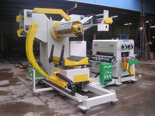 3 in 1 straightener feeder with uncoiler(thick plate)