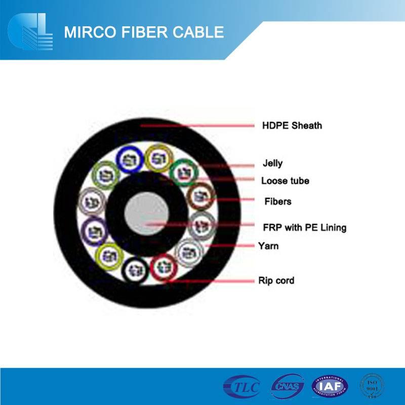 Mirco Blown Duct Fiber Cable