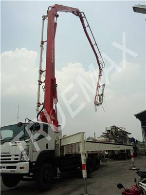 Truck-Mounted Concrete Boom Pump Boom