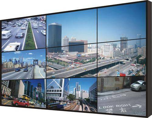 SANMAO 55 Inch HD LCD Splicing Screen,High Brightness Outdoor Advertising LCD Video Wall