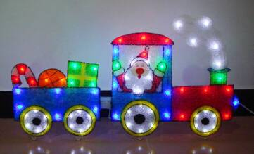 EVA&LED Christmas decorative ligts,Train,xmas lights