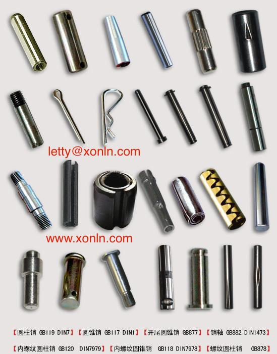 Taper pins with external thread DIN7977