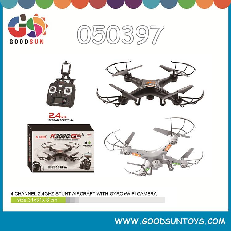 4 channel rc drone 050397