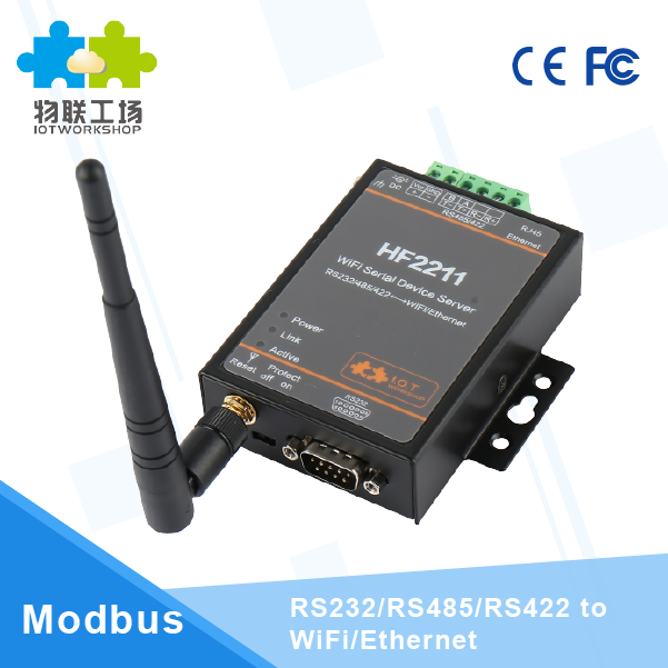 Industrial serial to wifi RS232/RS485/RS422 to wifi converter