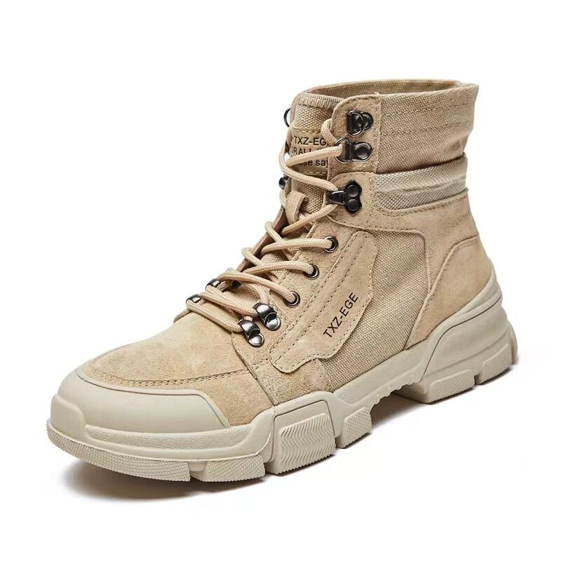 High-top Martin boots men's Korean version of the 2018 winter British mid-top all-purpose workwear f